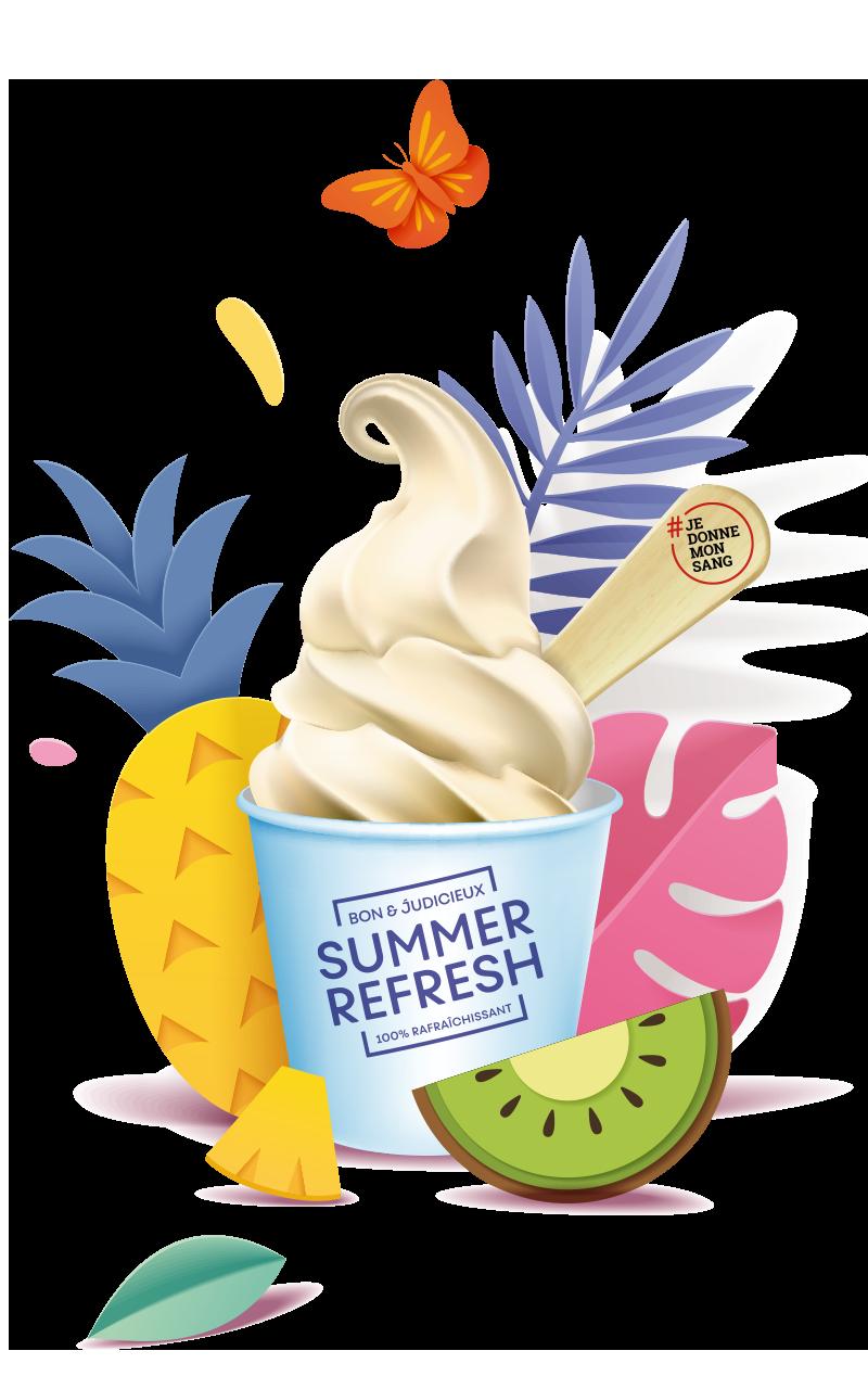Place aux agréables sensations estivales !